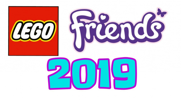 Наборы LEGO FRIENDS 2019: официальные изображения.