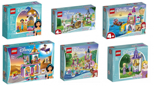 Наборы LEGO DISNEY PRINCESS 2019: официальные изображения.